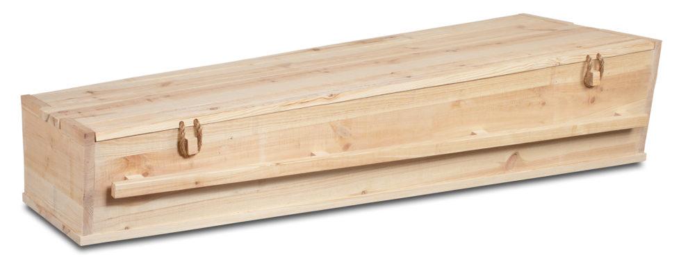 Uitvaartkist Hollands hout